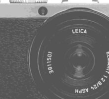 Amazing Leica Camera T-Shirt! Sticker