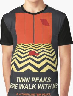 Twin Peaks: Red Room Graphic T-Shirt
