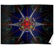 Elliptic Splits Raw Star Cluster Zoom Poster