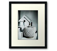 String & Things Framed Print