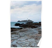 Godrevy Lighthouse Poster