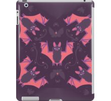 Bats Damask Wallpaper iPad Case/Skin