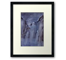 The Master of Knowledge Framed Print