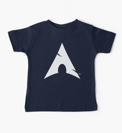 Big-A Arch Linux White Baby Tee