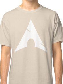 Big-A Arch Linux White Classic T-Shirt