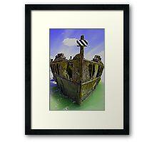 Maheno Wreck Fraser Island,Qld,Australia. Framed Print