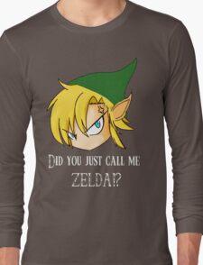 The Legend of Zelda The big mistake Long Sleeve T-Shirt