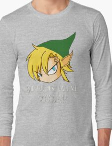The Legend of Zelda The big mistake Long Sleeve T-Shirt