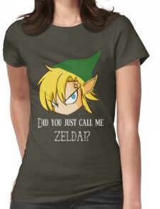 The Legend of Zelda The big mistake Womens Fitted T-Shirt