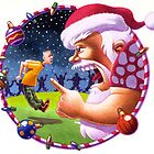 Sargent Santa by Mike Cressy