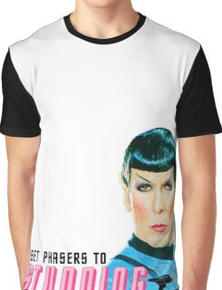 Set phasers to stunning, Mr. Spock Graphic T-Shirt