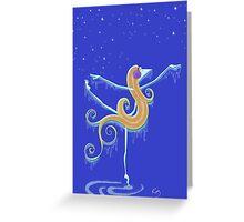 Kazart Phoebe 'Freeze' Tshirt Greeting Card