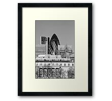 St Mary-Axe-London Framed Print