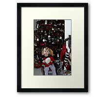 Xandria Waiting for Christmas Framed Print