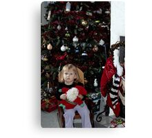 Xandria Waiting for Christmas Canvas Print