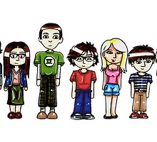 Big Bang Theory by Cloctor Creations