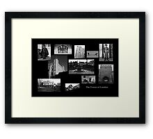 tower of London Collage Framed Print
