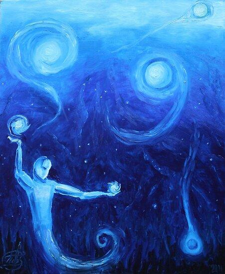 Oil Painting - The Juggler. 2011 by Igor Pozdnyakov