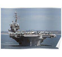 USS Kittyhawk Poster