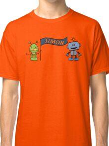 simon w robots Classic T-Shirt