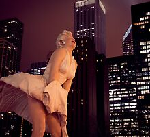 Marilyn in Chicago 1 by Polly Greathouse