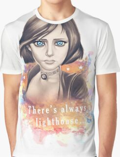 There's always a lighthouse... Graphic T-Shirt