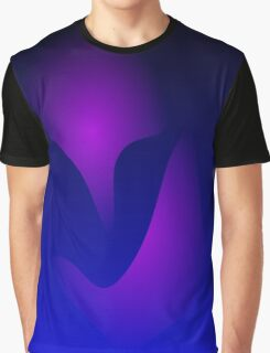 Blue Mask Graphic T-Shirt