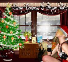 Santas Helper: Merry Christmas & Happy Holidays by Junior Mclean