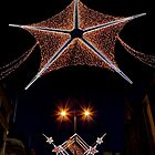 Christmas lights in London  by Jasna