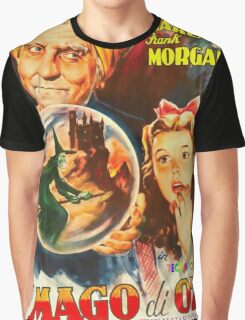 Italian poster of The Wizard of Oz Graphic T-Shirt