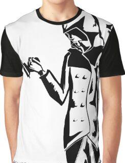 Peter Spizaetus - Black Graphic T-Shirt