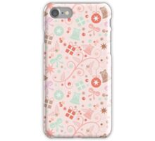 Seamless pattern Christmas iPhone Case/Skin