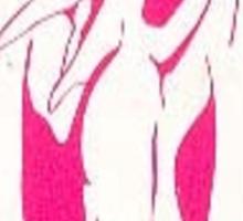 Pink Ranger Emblem Sticker