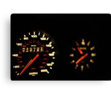 Morgan Freeman's 993 TT Porsche Ticker  Canvas Print