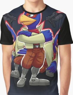 Falco Victory Pose T-Shirt Graphic T-Shirt