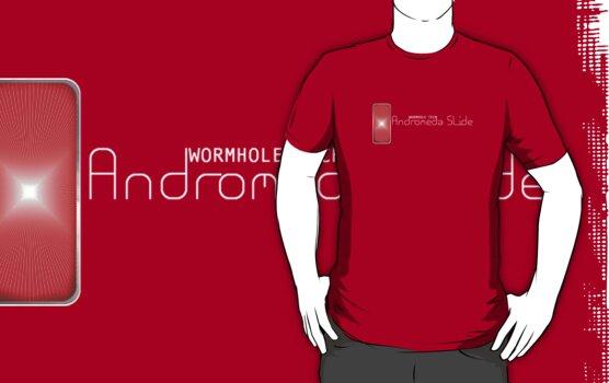 Andromeda Slide - Wormhole Tech (white) by Elton McManus