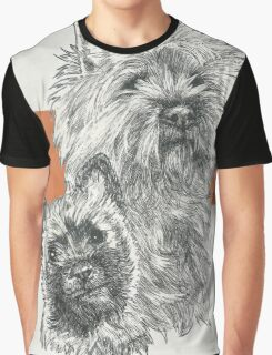 Cairn Terrier, Father & Son Graphic T-Shirt