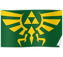 Crest Of Hyrule Poster