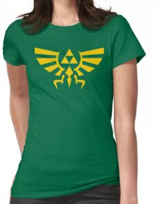 Crest Of Hyrule Womens Fitted T-Shirt