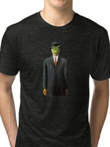 In the style of Magritte Tri-blend T-Shirt