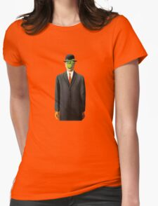 In the style of Magritte Womens Fitted T-Shirt