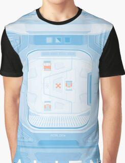 Alien (1979) Poster - Airlock Graphic T-Shirt