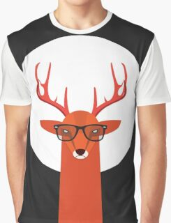 OHH DEER Graphic T-Shirt