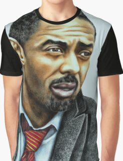 Idris Elba plays Luther Graphic T-Shirt