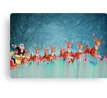 Santa Clause Has Arrived!  Canvas Print