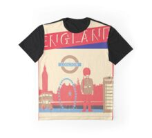 London England UK Graphic T-Shirt