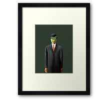 In the style of Magritte Framed Print