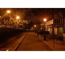 Night Street Photographic Print