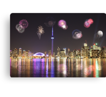 Happy New Year!!!! To All My Redbubble Friends  Canvas Print