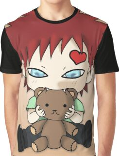 Chibi Love Boy Graphic T-Shirt